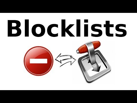 How to step by step enable blocklists in Transmission BitTorrent client