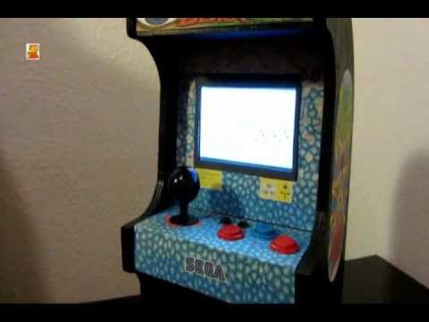 Mini Altered Beast arcade cabinet - YouTube
