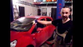 Opel  Corsa D ремонт выжимного