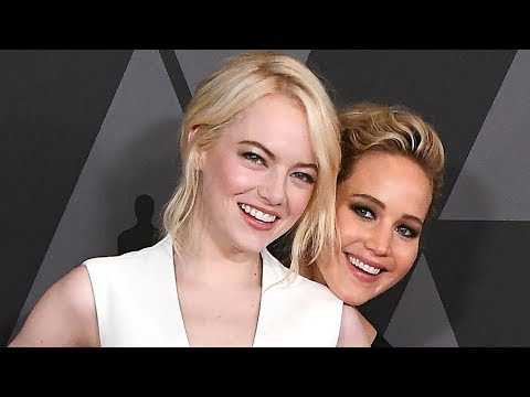 Emma Stone BAILS On Jennifer Lawrence After Golden Globes in Hilarious Video