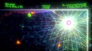 Geometry Wars 2 Evolved 1.5 BILLION Highest Score on YouTube. Would be #3 All time.