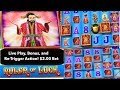 Ruler Of Luck - Live Play , Free Spin Bonus & Re-triggers! $2.00 Bet