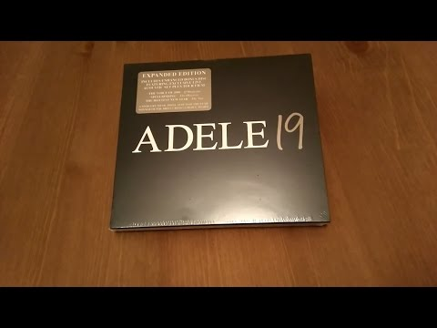 Adele - 19 (Deluxe Edition) | Unboxing