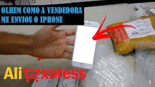 Comprei um iPhone 6 no Aliexpress. Olhem o que recebi