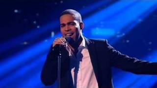 The X Factor 2009 - Danyl Johnson: I Have Nothing - Live Show 9 (itv.com/xfactor)