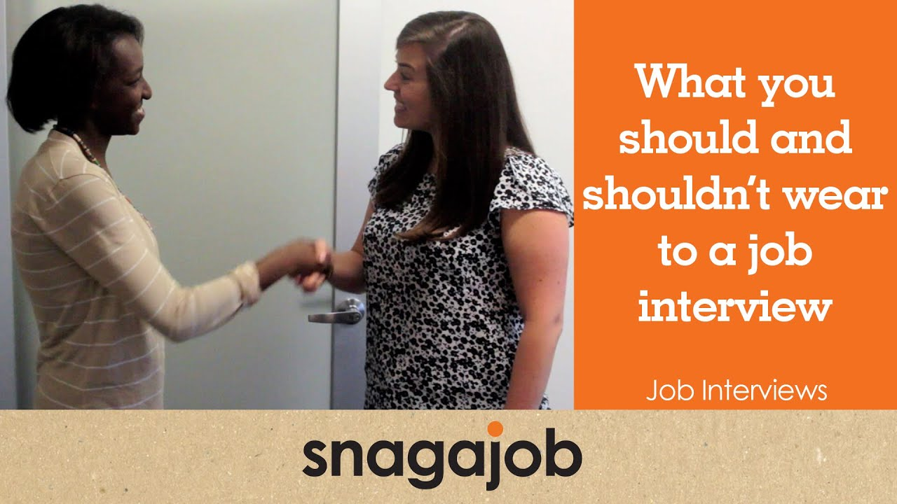 what to do in job interview