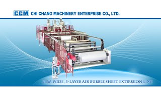 Air Bubble Film Extrusion Line - Chi Chang Machinery