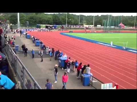 EYAL Allianz Park 2014 - U17 100m Hurdles & 100m Sprint