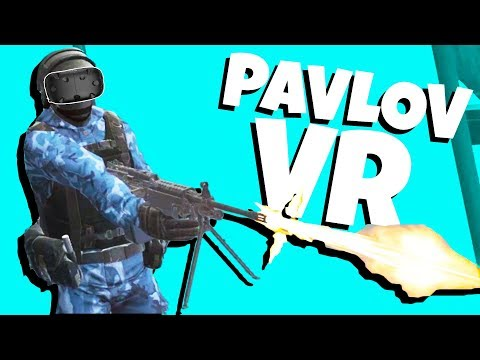 AMAZING Gun Game In Virtual Reality! - Pavlov VR - Game Like CS:GO - HTC Vive VR