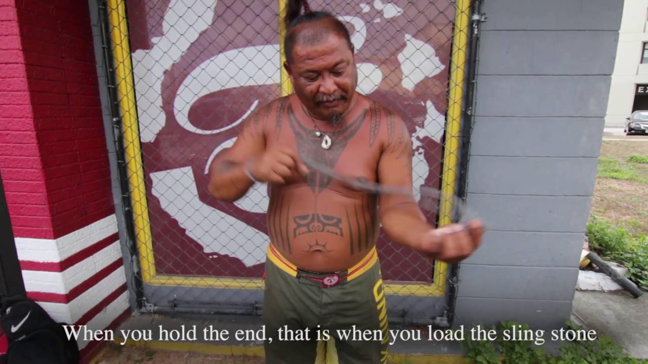 Guelo Slinging Tutorial Capitol F (Acho Atupak) // The Fokai Shop Agana