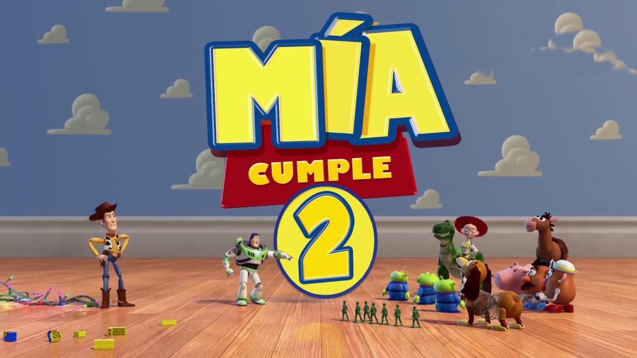Video Invitacion De Cumpleaños Toy Story