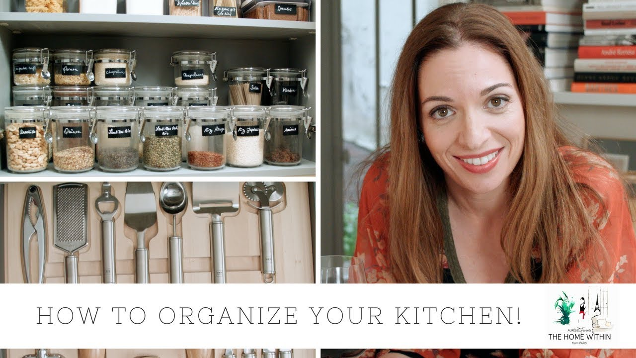 how to organize your kitchen youtube
