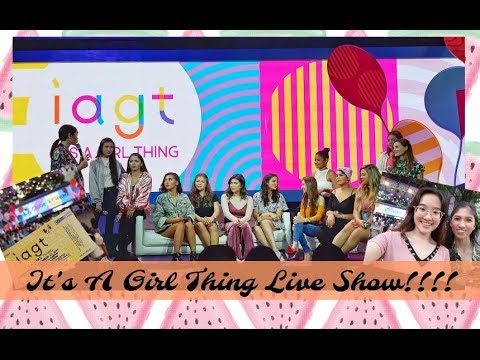 IT'S A GIRL THING LIVE SHOW EVENT!! ft. BETHANY MOTA, NIOMI SMART & MORE! + GIVEAWAY | Philippines