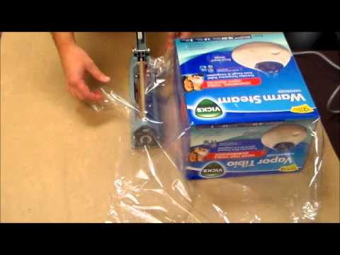 Shrink Wrap A Box By Hand Youtube