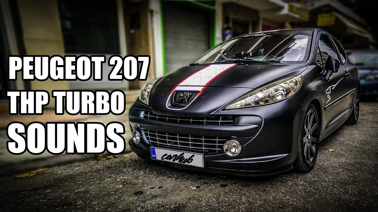 Ultimate Peugeot 207 Gt Rc Turbo Sound Compilation Youtube