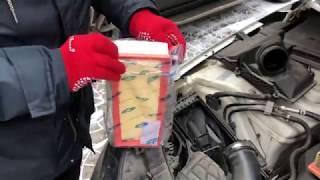видео Воздушный фильтр на Audi A4 B5, B6/B7, B8 - 1.6, 1.8, 1.9, 2.0, 2.4, 2.5, 2.6, 2.7, 2.8, 3.0, 3.1, 3.2 л. – Магазин DOK