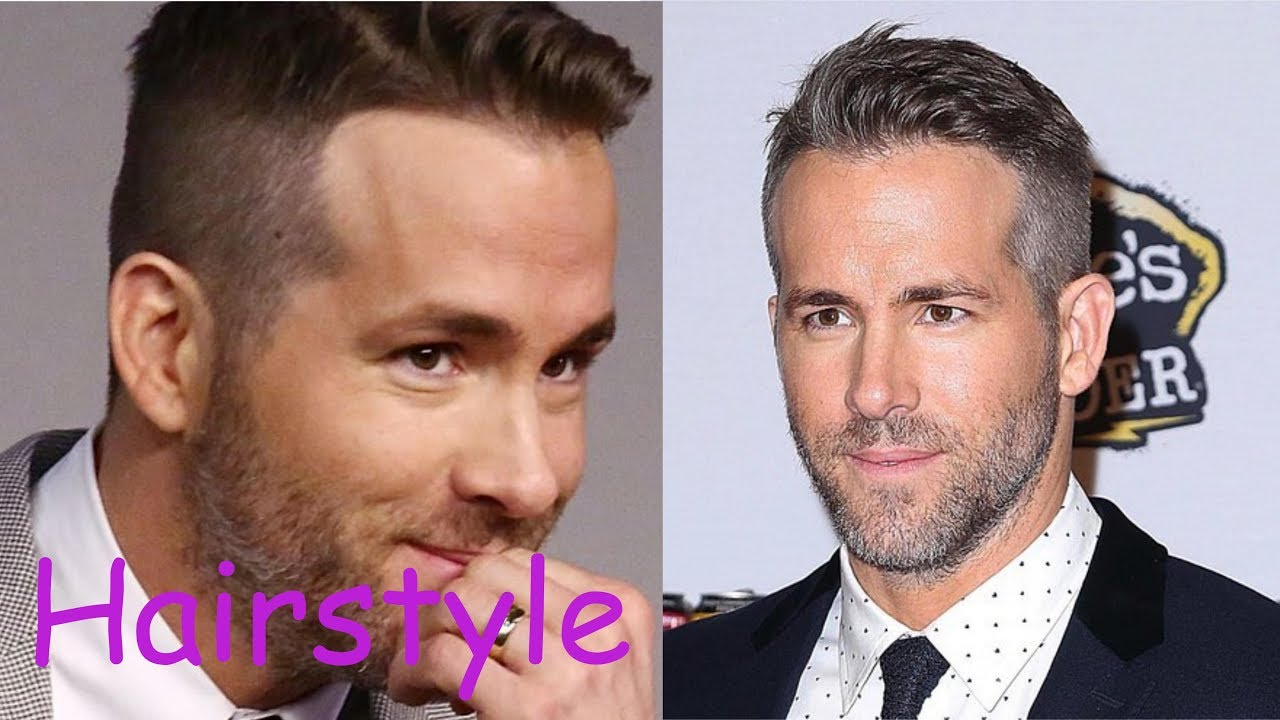 Ryan Reynolds Hairstyle 2018 Youtube