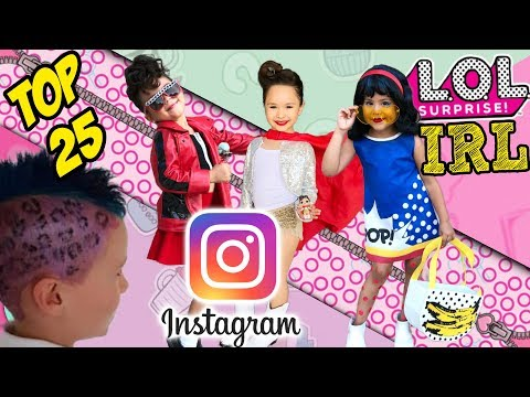 LOL Surprise Dolls In Real Life | Best Real Life LOL Dolls On Instagram #lolsurpriseirl | LOL Videos