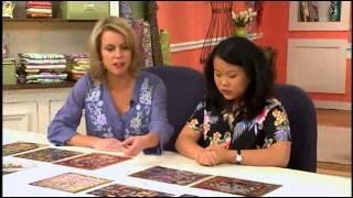 Sophie Rubin on Quilting Arts TV Episode 1212 - November 2013