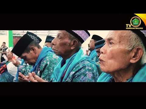 PROSESI PELEPASAN JAMAAH HAJI PROV.MALUKU TAHUN 2017