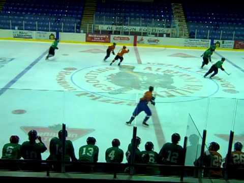 Green Orange Junior Game August 3, 2011 at West Coast Hockey Prep Camp
