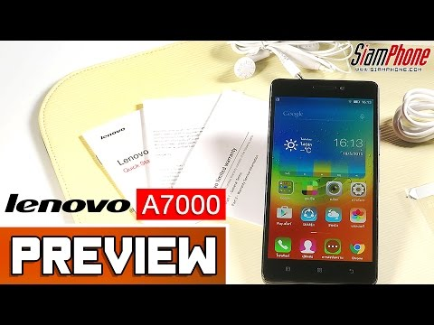 [Preview] : แนะนำ Lenovo A7000 by SiamPhone