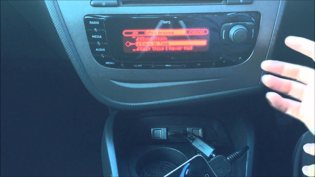 Usb Adapter Seat Ibiza 6j Seat Leon Mk2 Facelift Usb Ipod Iphone Connection