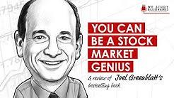 136 TIP: Joel Greenblatt's Book, You Can Be A Stock Market Genius