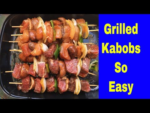 Easy Kabob Marinade Recipe