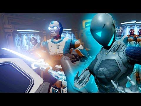 VR Sexy Cyborg Ninjas - RAW DATA |