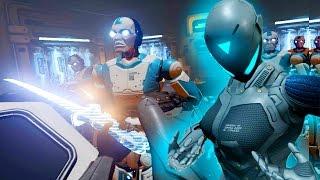 VR Sexy Cyborg Ninjas - RAW DATA