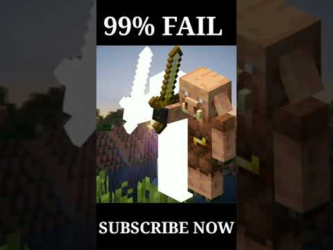 99% OF PEOPLE FAIL TO TASK #shorts#minecraft