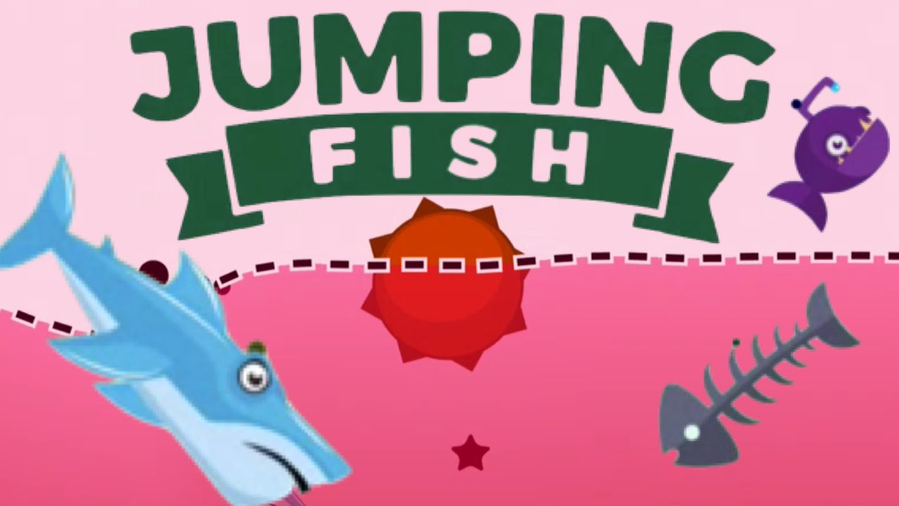 JUMPING FISH | Crazy Mine Dodging Game | Ketchapp iOS, Android ...