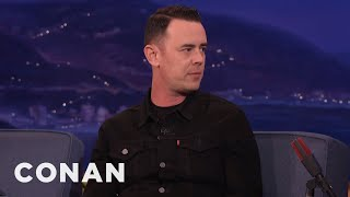 colin hanks on his eagles of death metal documentary   conan on tbs