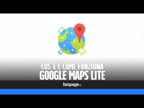 Google Maps Lite: cos'è, come si attiva e come funziona