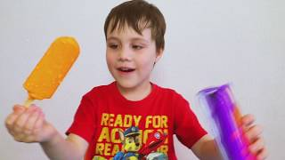 Finger Family Song for Kids learn Colors with Ice Cream