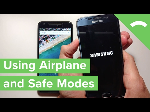 How To Use Airplane Mode And Safe Mode