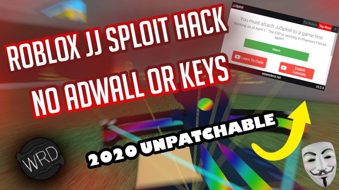 Unpatchable Roblox Exploit Jj Sploit 2020 Hack Roblox Youtube