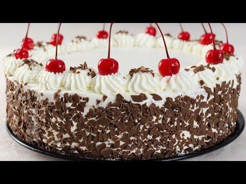 Tort padurea neagra pas cu pas | JamilaCuisine