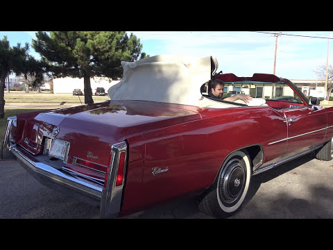 1976 Cadillac Eldorado Convertible survivor original - YouTube