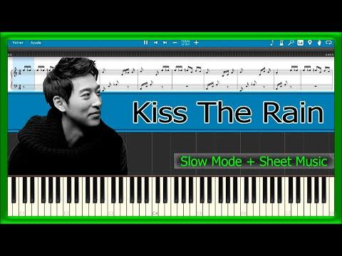 MUSIC KISS THE RAIN SHEET