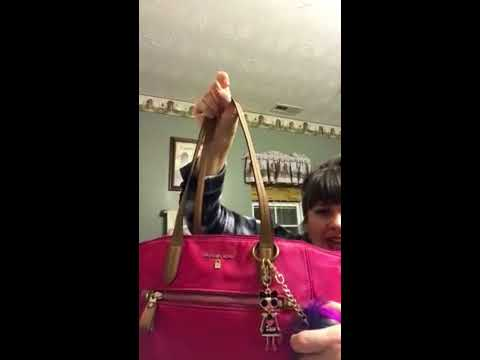 80a82589eb0d Michael kors Kelsey tote - YouTube