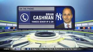 What is Brian Cashman's plan for the winter?