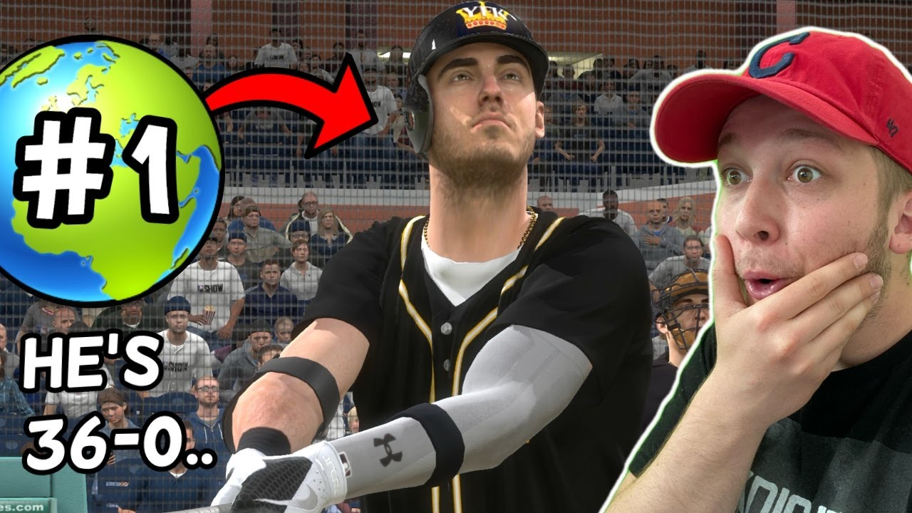 i faced the #1 PLAYER IN THE WORLD in a game of MLB The Show 20.. (he was 36-0)