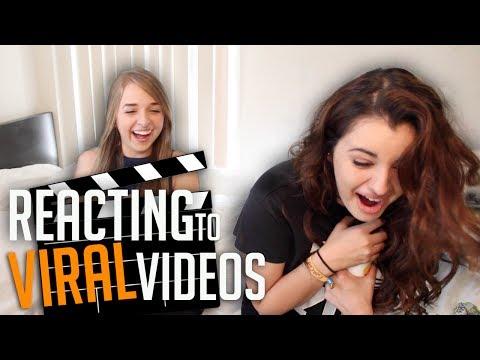 REACTING TO DISTURBING VIRAL VIDEOS with JENNXPENN!