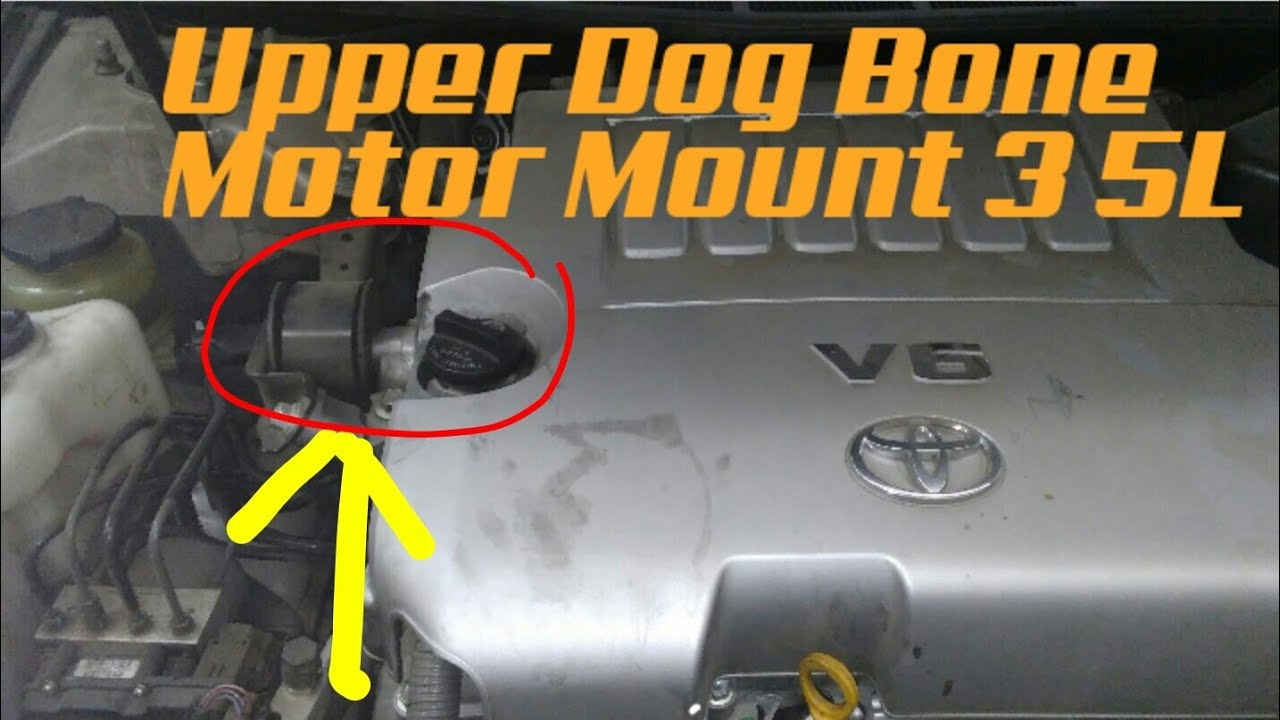 2007-2008 avalon upper motor mount (dogbone mount) replacement
