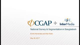 CGAP Webinar: Financial Solutions for Smallholder Families in Bangladesh