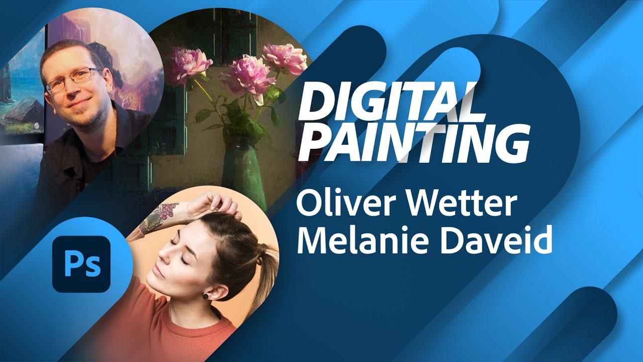 Illustration mit Oliver Wetter und Melanie Daveid |Adobe Live