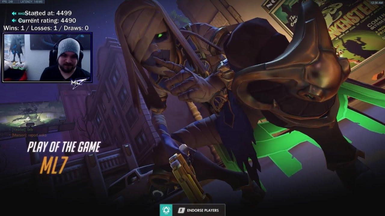 Overwatch Ana God mL7 Insane Gameplay ...