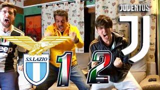 LAZIO 1-2 JUVENTUS | LIVE REACTION TIFOSI JUVENTINI al GOL di RONALDO all'88 HD!! [GODURIA]
